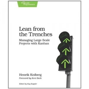 "Cover of the book ""Lean from the Trenches"""
